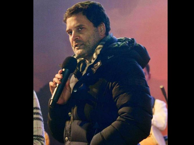 Rahul Gandhi's jacket at rock concert attracts BJP's 'Soot-Boot' retort