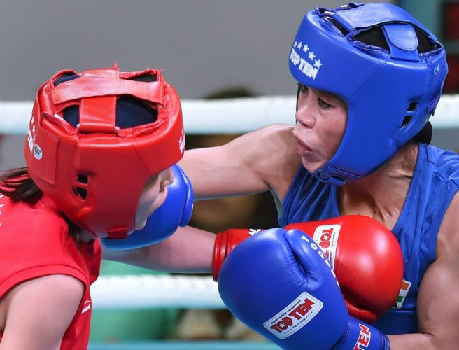 Mary Kom soars into final; Thapa stunned