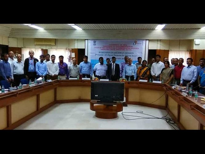 Dept of Telecoms conducts workshop for telecos on digital payments