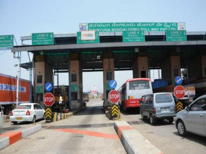 You may have to pay toll on way to airport
