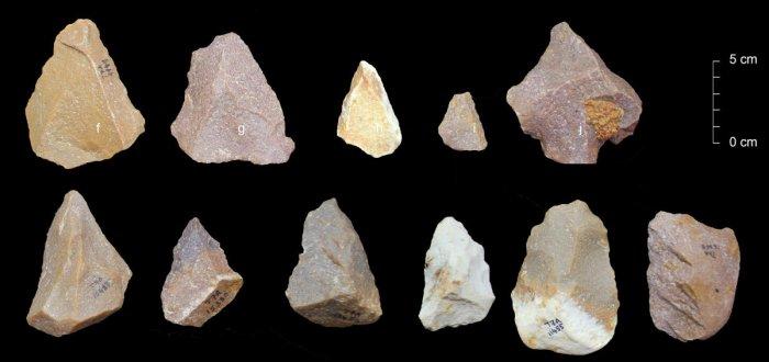TN stone tools offer evolution insights