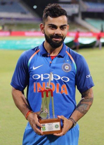 The win gives us momentum, says Kohli