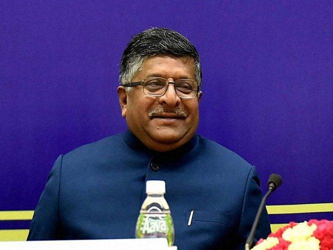 Aadhaar data safe, says IT minister Ravi Shankar Prasad