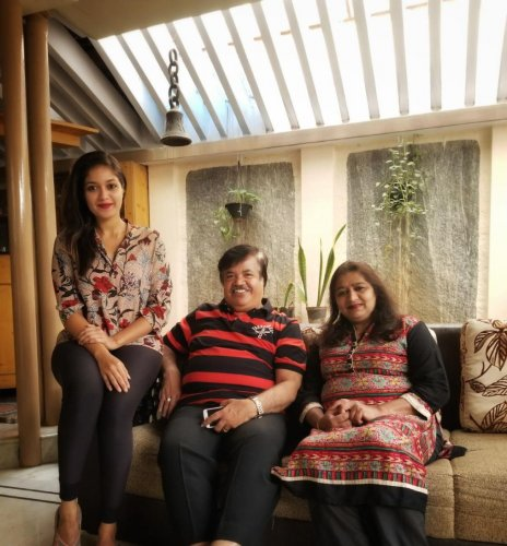 'I am grateful to my parents'