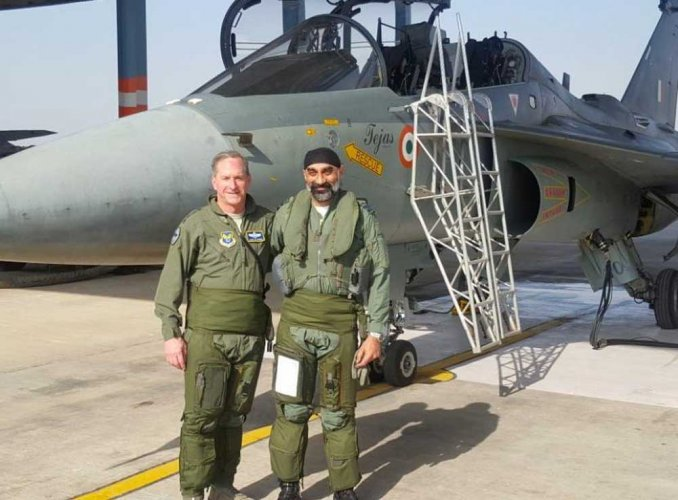 US Air Force chief flies India's Tejas