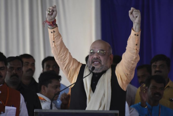 Congress & BJP war of words on Shah's claim on central funds to Karnataka