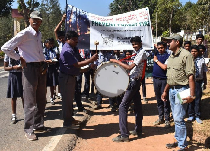 Awareness programme on forest fire