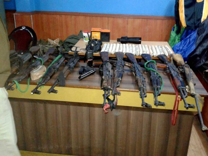 BSF recovers cache of arms near Indo-Pak border in Gurdaspur