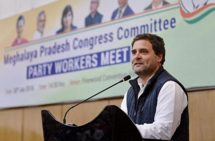 Rahul to meet party workers tommorow
