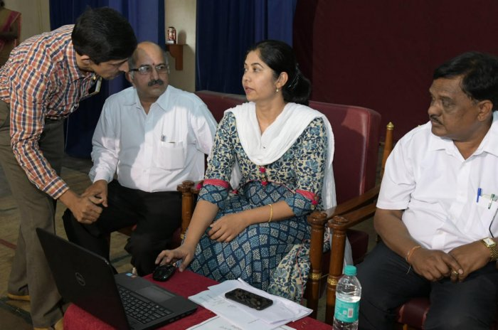 Online result processing system for I PU students launched in DK district
