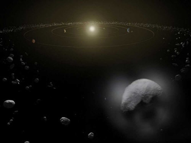 Small asteroid to closely pass by Earth: NASA