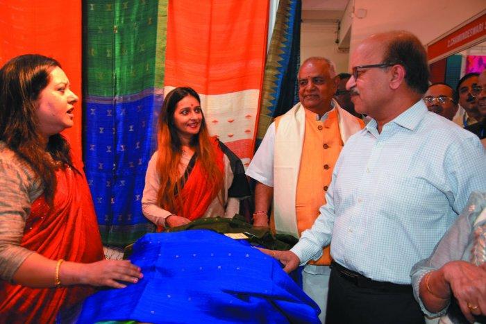 Silk expo in city till Feb 11