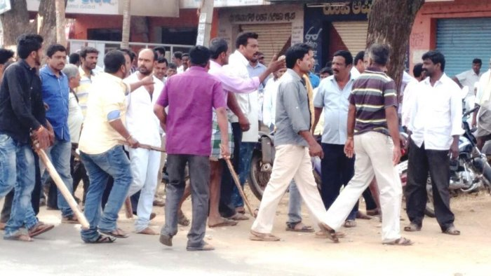 Ban orders in Sakharayapattana, following violence in town