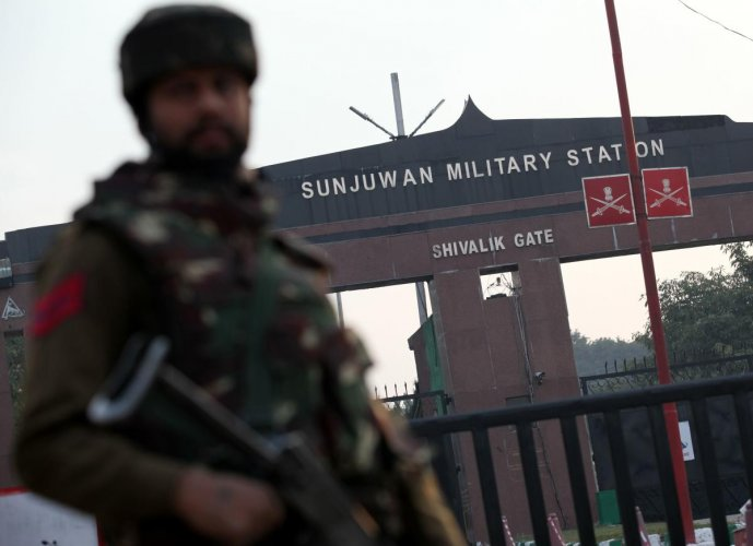 Soldier martyred in fidayeen attack at army camp in Jammu
