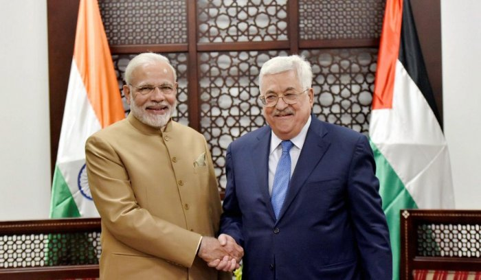 Palestine seeks India's role in peace process