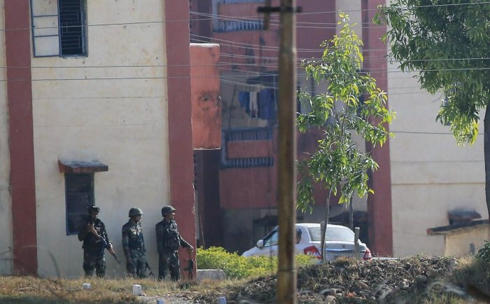Operation to flush out terrorists from Army base enters 2nd day
