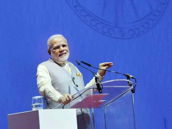 Use tech as a means to development, not destruction: PM