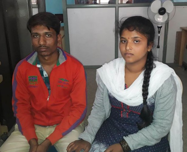 Maddur police rescue inter-faith couple