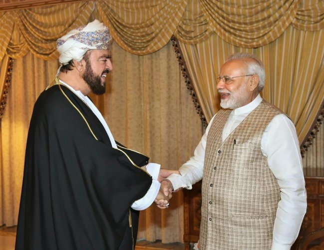 Oman visit will impart 'substantial momentum' to ties, says Modi