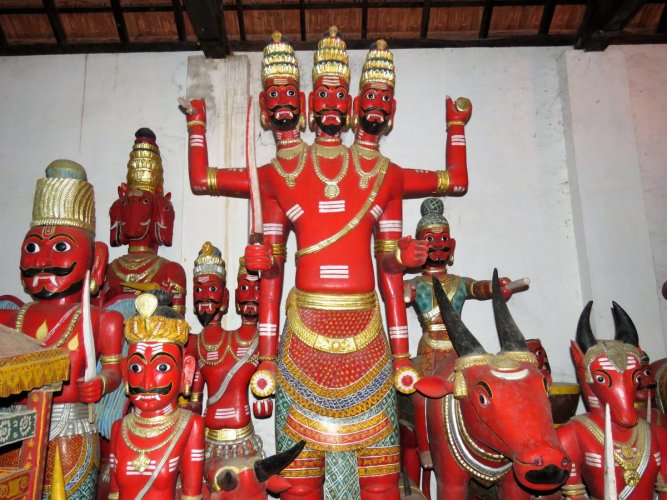 Divinity Crafted In Wood Deccan Herald