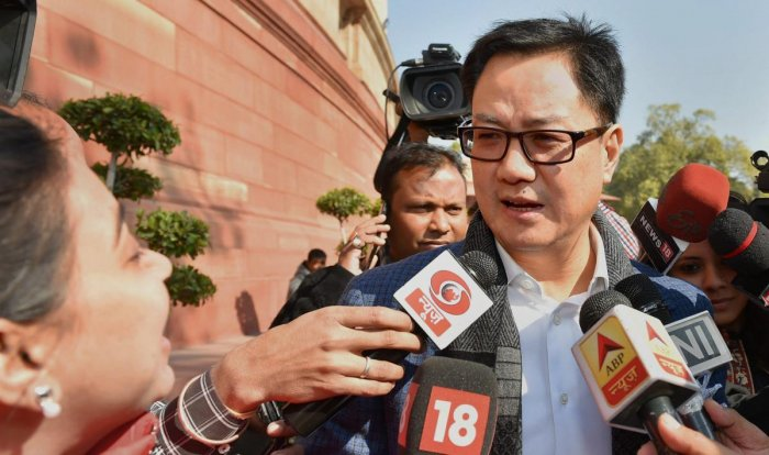 BJP or its govt won't come in the way of Naga pact: Rijiju