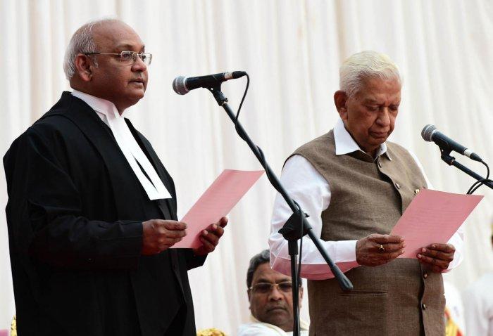 Justice Maheshwari is 29th chief justice of Karnataka HC