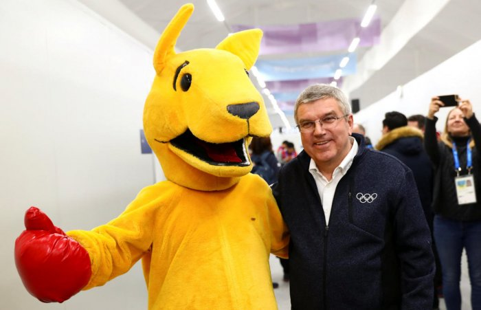 Bach for Nobel peace prize? No 'formal discussion' says IOC