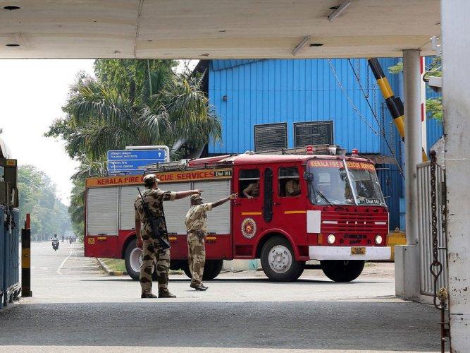 Five killed in blast on ONGC vessel at Cochin Shipyard