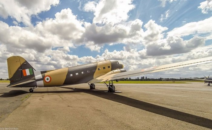 Acquired from scrap, restored Dakota to join IAF fleet in March