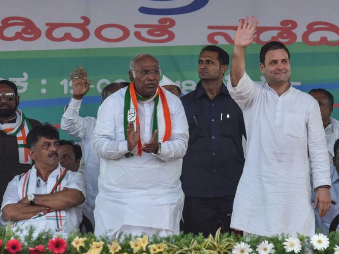 'Are dalits sinners?' asks Kharge