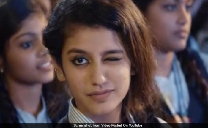 Complaint against song featuring Priya Varrier
