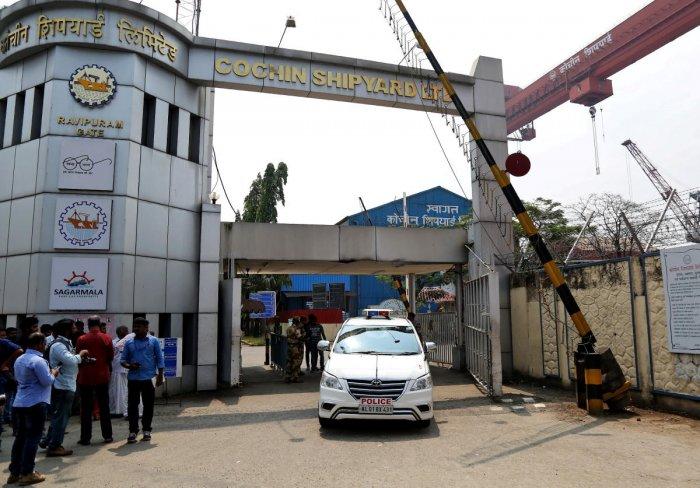 Centre seeks report from CSL on shipyard blast