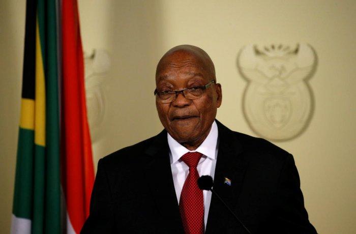 South Africa's Jacob Zuma resigns as president