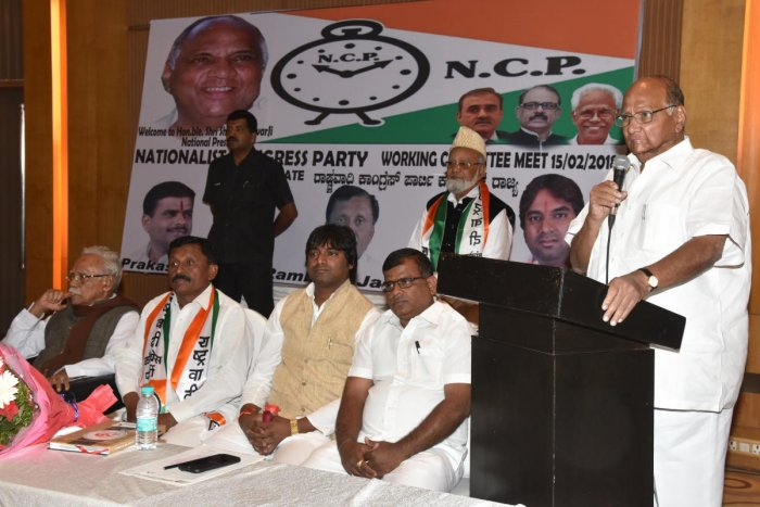 JD(S) strikes another alliance, now with Pawar's NCP