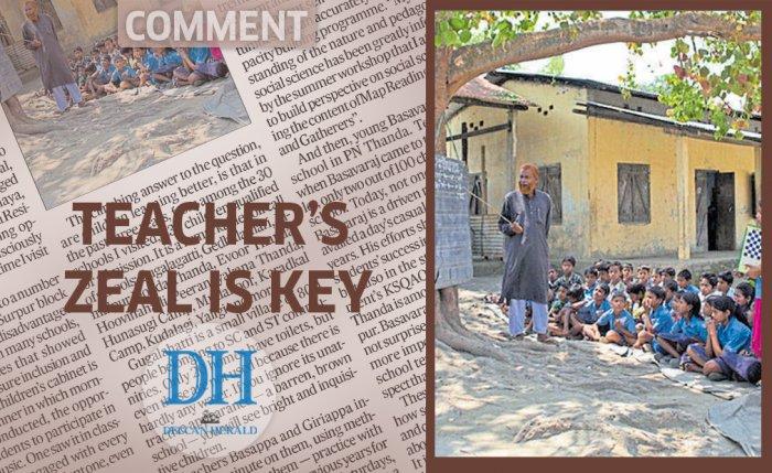 Teacher's zeal is key