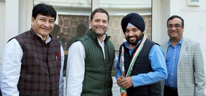 Arvinder Singh Lovely returns to Congress