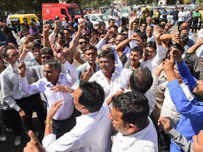 Tempers rise over death of dalit activist