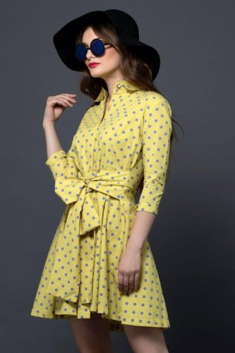 Classic polka dots continue to reign