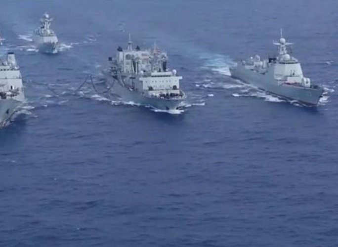 Chinese warships enter the East Indian Ocean amid Maldives tensions