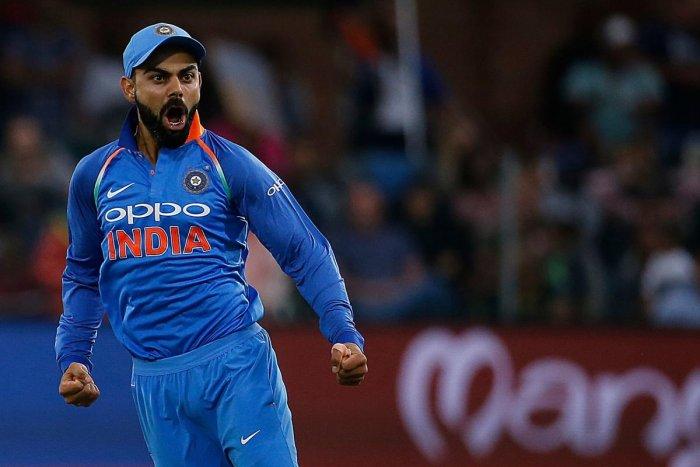 Kohli sets new mark in Tests, ODIs
