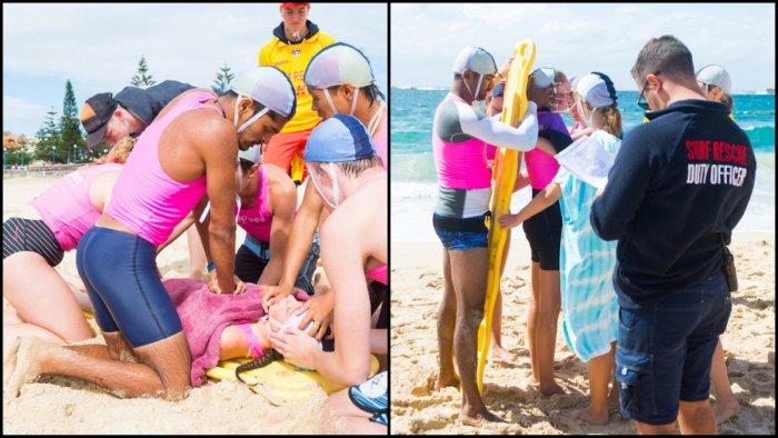 Puttur swimmers trained on advanced life-saving skills and beach rescue