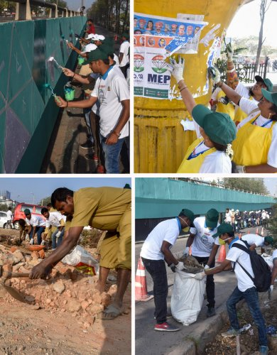 Clean Bengaluru Campaign kicks off in the city