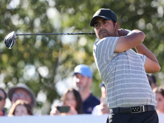 Lahiri moves up to T-46