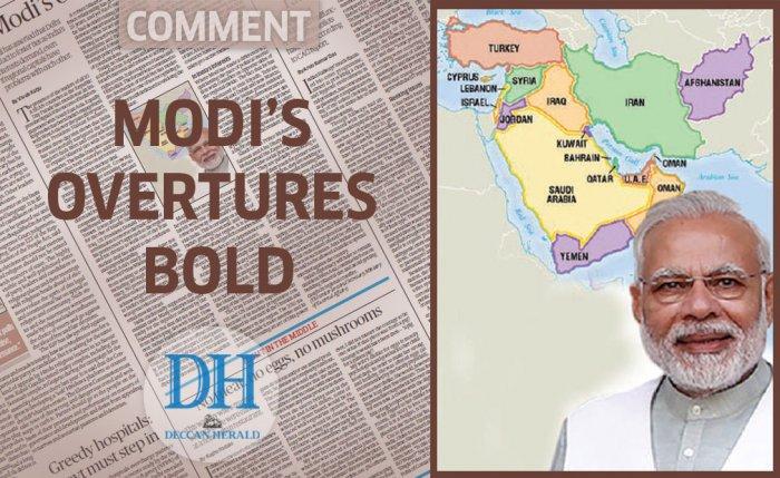 Modi's overtures bold