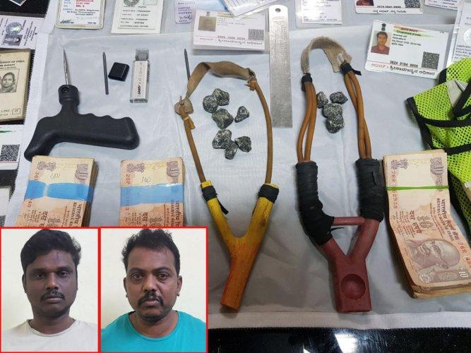 OG Kuppam gang members held