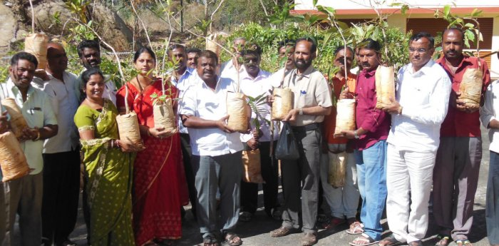 Bengaluru environmentalist to plant 2,018 saplings in Jain centre