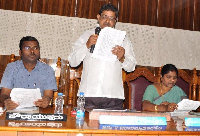 Mandya CMC presents Rs 1.75-cr surplus budget