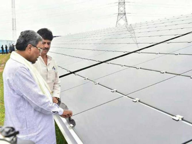 Shakti Sthala: 600 MW first stage of Pavagada solar park inaugurated