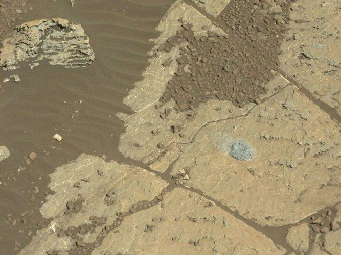 NASA's Mars Curiosity rover tests new way to drill