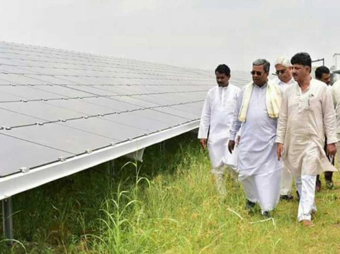 When done, Pavagada solar park to add 2000 MW to state grid